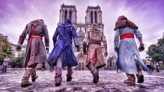 Download Assassin's Creed Unity Meets Parkour in Real Life - 4K! Video