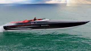 Download DONZI 43 ZR Power Boat - Ferrari Performance meets James Bond Style Video