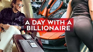 Download A day with a BILLIONAIRE! Join Rich Kids of Instagram's Emir Bahadir as he works out and shops! Video