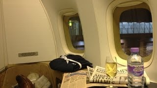 Download First Class London to Cape Town on British Airways Video