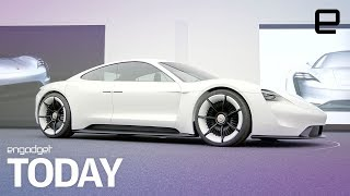 Download Porsche takes aim at Tesla with the upcoming Mission E | Engadget Today Video