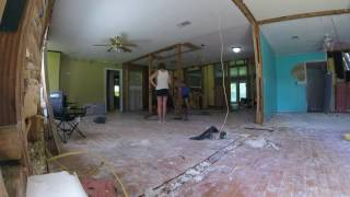 Download Kendall House Tile removing in Time lapse Video
