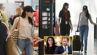 Download Meghan Markle Is Back in Los Angeles: How She Keeps in Touch With Prince Harry Video