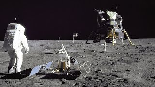 Download Restored Apollo 11 Moonwalk - Original NASA EVA Mission Video - Walking on the Moon Video