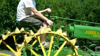 Download 1936 John Deere A Tractor on Steel Wheels in Kansas for Sale $4,900 Video