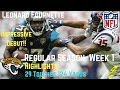 Download Leonard Fournette Week 1 Regular Season Highlights Impressive Debut | 9/10/2017 Video