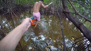 Download Exploring Rain forest like Fishing Spots! (Tarpon and Spotted Gar) Video
