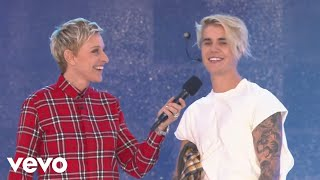 Download Justin Bieber - What Do You Mean? (Live From The Ellen Show) Video