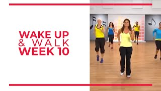 Download WAKE UP & Walk! Week 10 | Walk At Home YouTube Workout Series Video