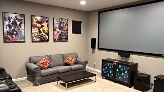 Download A basic Media room setup Video
