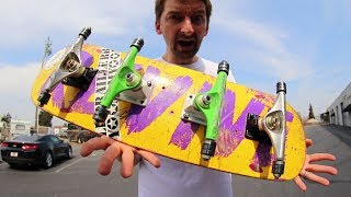 Download 4 TRUCKS BEARINGS ONLY! | STUPID SKATE EP 105 Video