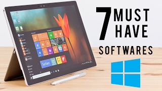 Download 7 Must Have FREE Software's for Windows 10 PC/Laptop Video