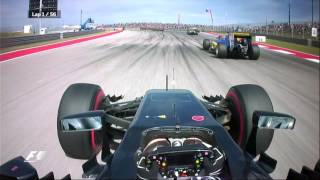 Download Jenson Button's Amazing First Lap in Austin | F1 is...Being Bold Video