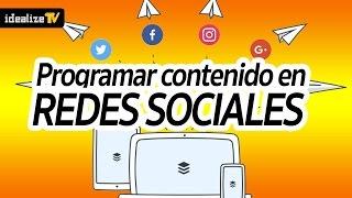 Download Como Programar contenido en redes sociales Video