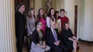 Download Nobel Prize Winner William Campbell returns to Trinity Video