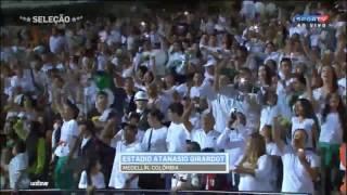 Download Torcida do Atlético Nacional cantando ″Vamo Vamo Chape″ no estádio Atanasio Girardot #ForçaChape Video