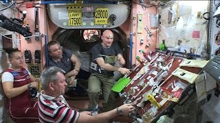 Download Space Station Live: Thanksgiving Feast on Orbit Video