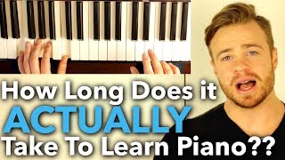 Download How Long Does it ACTUALLY Take to Learn Piano?? [ANSWERED] Video
