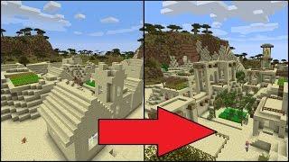 Download Let's Transform a Minecraft Desert Village! Video