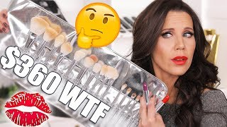 Download I SPENT $500 on KYLIE BRUSHES & LIPSTICKS | Try on Review Video