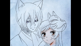 Download How to draw Tomoe and Nanami (Valentines special) Kamisama Kiss Video