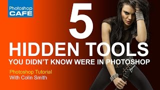 Download 5 hidden tools you didn't know were in Photoshop Video