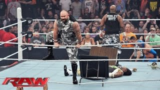 Download The Dudley Boyz return to WWE: Raw, Aug. 24, 2015 Video