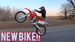 Download Jake Gets a Dirt Bike!!!    How to Ride Long Wheelies! Video