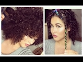 Download DIY Heatless Curls with Straws I Afro Locken mit Strohhalmen OHNE HITZE I Marina Si Video