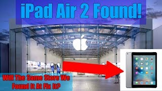 Download BRINGING IPAD APPLE THREW AWAY BACK TO APPLE STORE! Found iPad Air 2 Dumpster Diving At Apple Store! Video