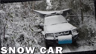 Download Car Camping in the Snow Video