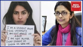 Download Gurmehar Moves DCW After Rape Threats Video