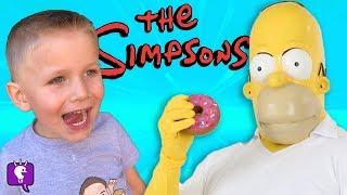 Download Homer Simpson Surprises + TOYS with HobbyKidsTV Video