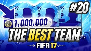 Download THE BEST TEAM IN FIFA! #20 [1,000,000 COIN TEAM] - #FIFA17 Ultimate Team Video