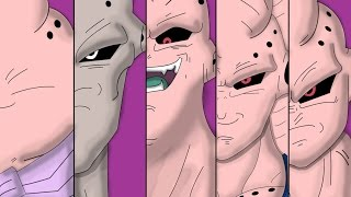 Download Majin Buu All Forms And Transformations Video