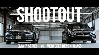 Download Shootout: 7 Series vs. S-Class for luxury motoring Video