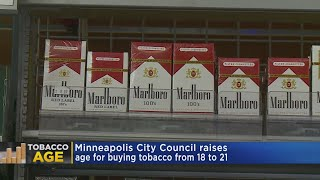 Download Minneapolis City Council Unanimously Raises Age To Buy Tobacco Video