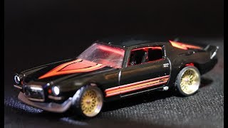 Download Hot Wheels Custom LED Lights Mainline Z28 Camaro Custom Video