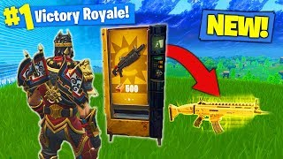 Download *NEW* LEGENDARY VENDING MACHINE GAMEPLAY In Fortnite Battle Royale! Video