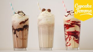 Download The Perfect Thick Milkshake PLUS 3 ways to PIMP it! | Cupcake Jemma Video