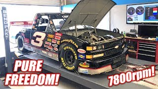 Download Dale Truck Hits the Dyno! Our LS7 Swapped NASCAR Makes GREAT Power! Video