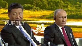 Download Russia: Xi and Abe approve Trump's DPRK efforts at Eastern Economic Forum Video
