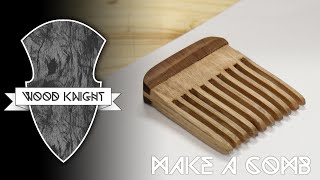 Download 038 - Wooden hair comb Video