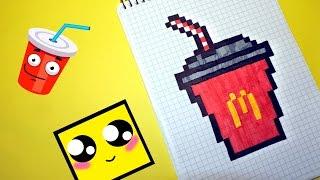 Download Рисуем по клеточкам- КОЛА из McDonald`s ! Video