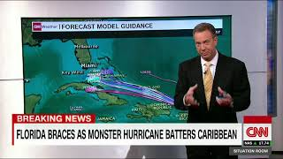 Download Hurricane Irma a giant, record breaking storm Video