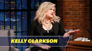 Download Kelly Clarkson Loves Trash-Talking on The Voice Video