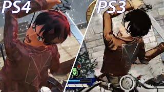Download Attack on Titan PS Vita vs PS3 vs PS4 Graphics Comparison Video