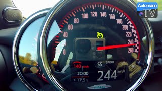 Download 2016 MINI F56 JCW (231hp) - 0-244 km/h acceleration (60FPS) Video