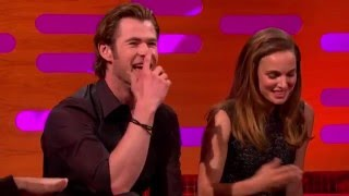 Download Natalie Portman and Chris Hemsworth - The Graham Norton Show 2013. Video