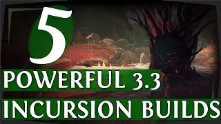 Download PoE 3.3 - 5 Powerful Starter Builds For Incursion League! (Path of Exile 2018) Video
